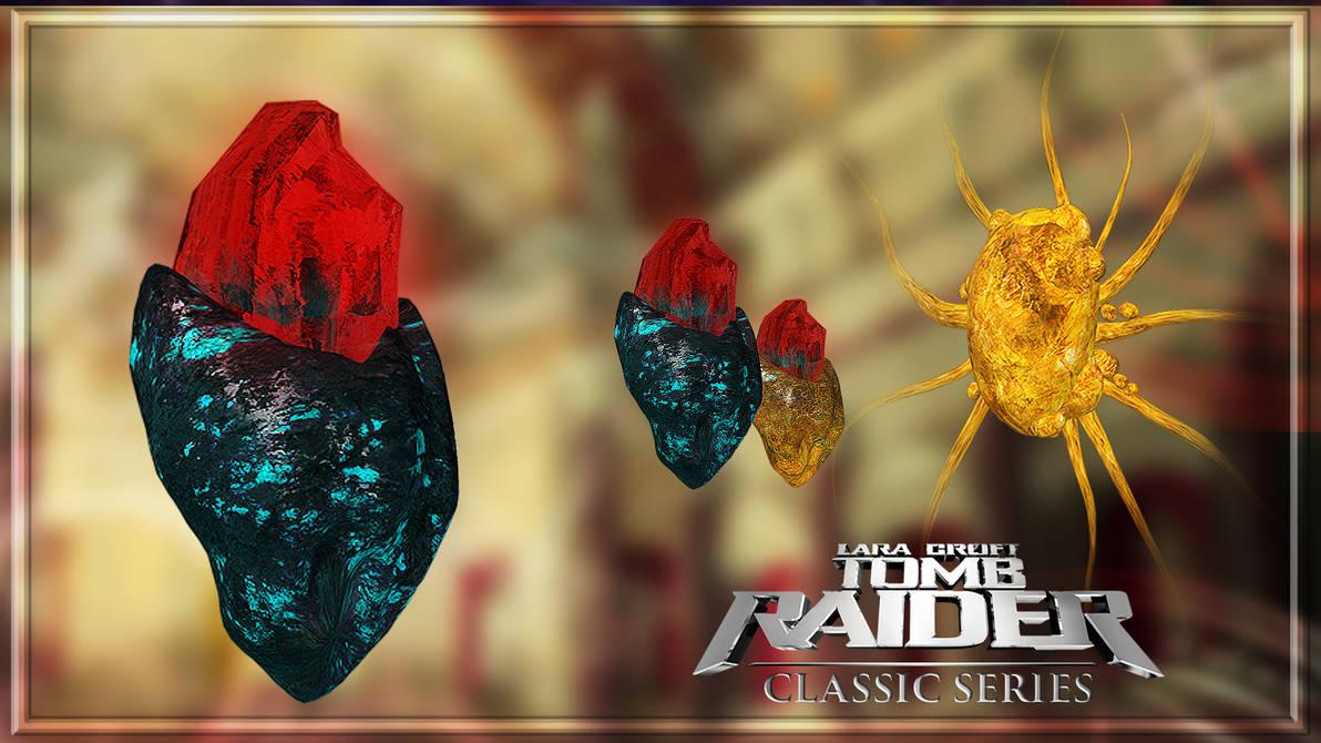Tomb Raider: Classic Series - Philosopher's stone by Shyngyskhan