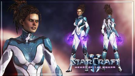 Starcraft II - Sarah Kerrihan Dezerged by Shyngyskhan