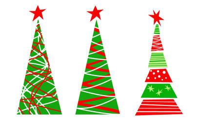 Christmas Trees Vector