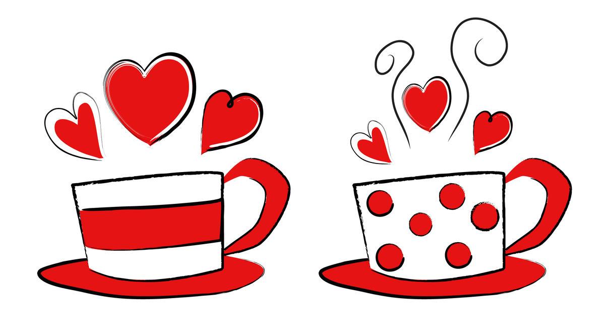 Valentine Coffee Cups By Shuallyo ...