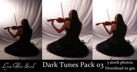 Dark Tunes Pack 03 by Lynnwest-Stock
