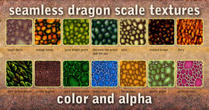 seamless dragon scale textures