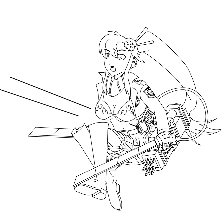 yoko coloring pages - photo#13