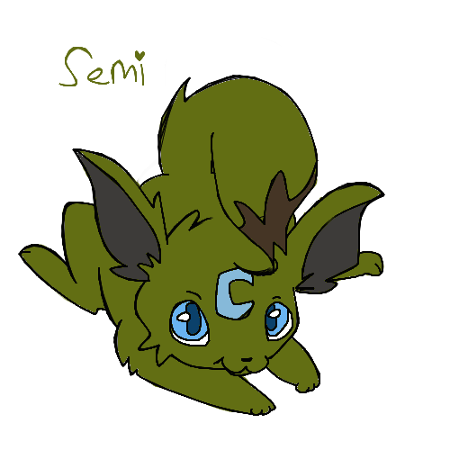 Trade: Semi the Eevee by derpato