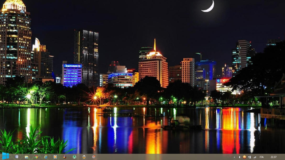 Capital Cities of Asia Theme Windows 7  8 by by Andrei-Azanfirei