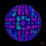 fmr - Kyanite and Charoite Jewel Sphere