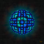 fmr - Topaz and Sapphire Jewel Sphere