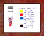 PEBEO Gouache Swatches - Primary Colours by fmr0