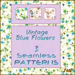 fmr - VintageBlueFlowers - PAT by fmr0