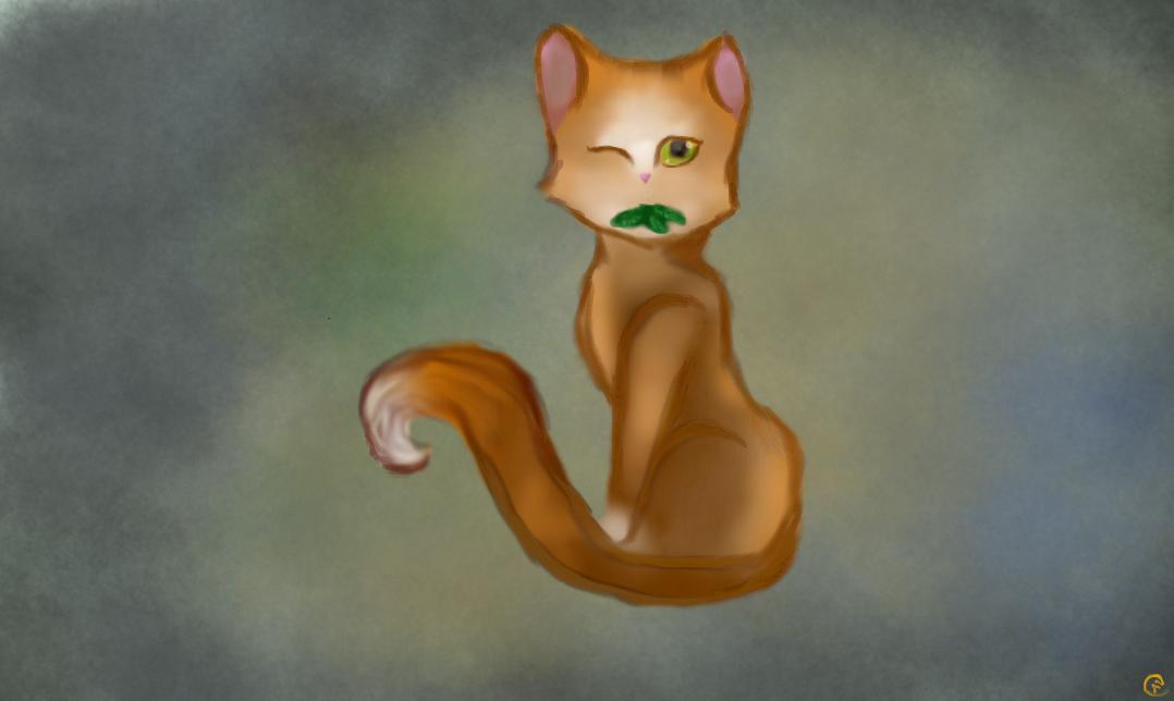 AutumnLeaf ~ OC - Warrior Cats by Karmen4290