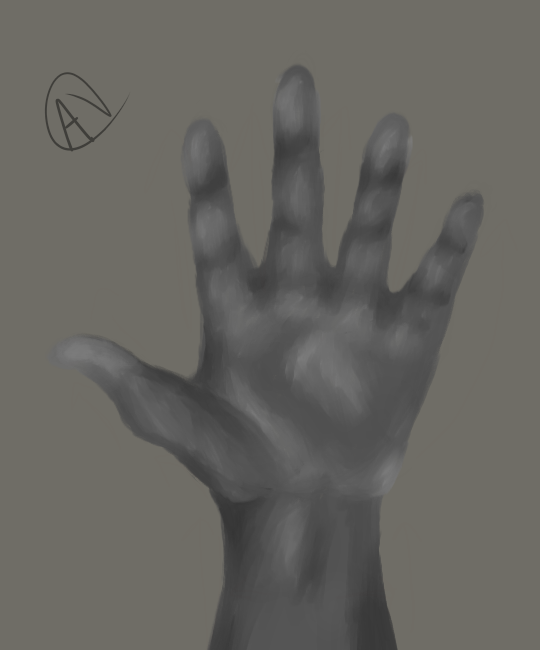Hand Sketch by Karmen4290