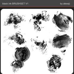 black ink BRUSHSET V1 by Alexeji