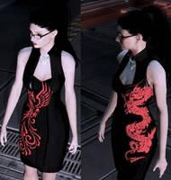 Kasumi Dress Dragon and Phenix Version by charming-mushroom