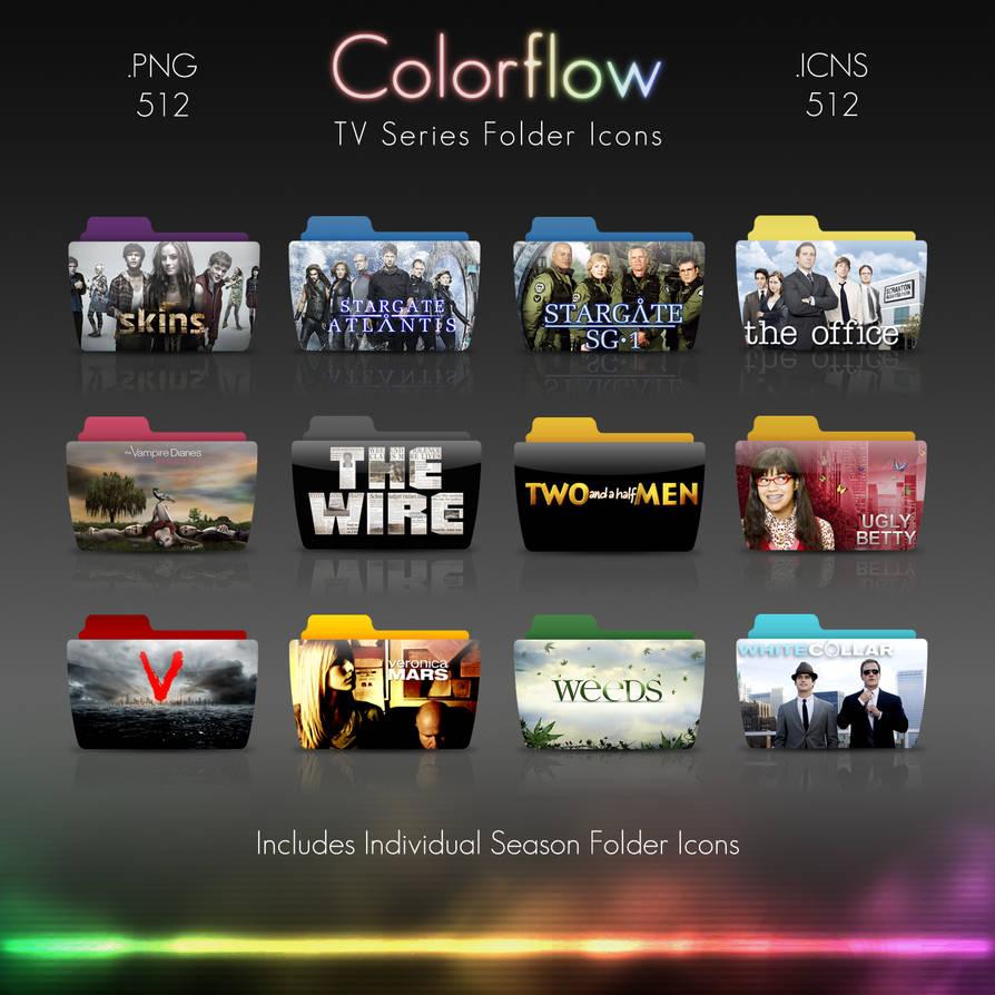 Colorflow TV Folder Icons 5 by Crazyfool16 on DeviantArt