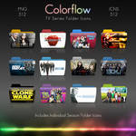Colorflow TV Folder Icons 7