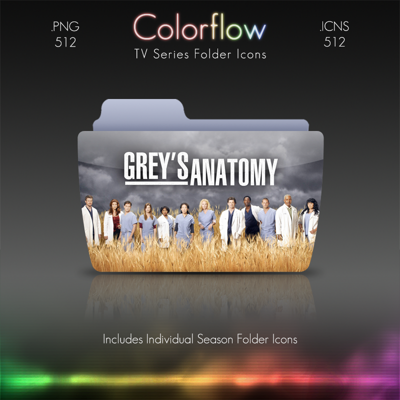 Colorflow TV Folder Icons: Grey\'s Anatomy by Crazyfool16 on DeviantArt