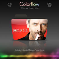 Colorflow TV Folder Icons: House