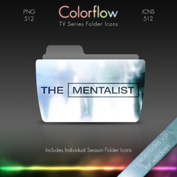 Colorflow TV Folder Icons: The Mentalist