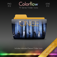 Colorflow TV Folder Icons: Once Upon A Time