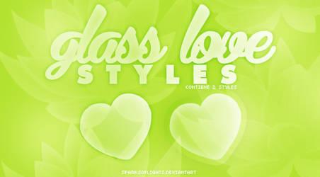 Glass Love ~ Photoshop styles.