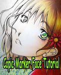 Copic Marker Tutorial- face
