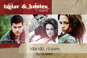 Icons: Taylor And Kristen