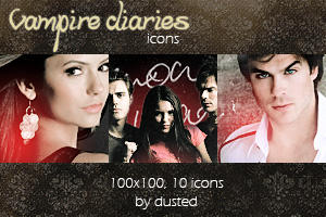 Icons: Vampire Diaries by dusted92