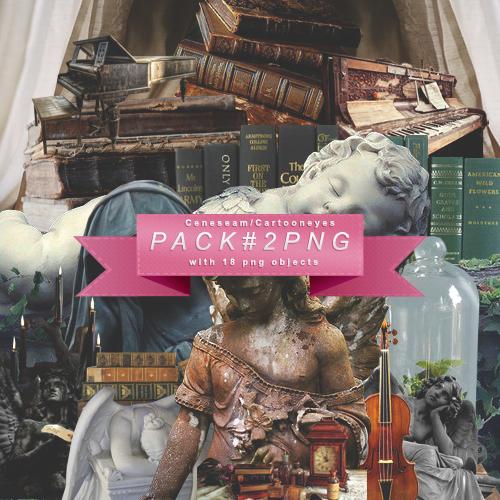Pack 18 PNG'S #2 by cartooneyes