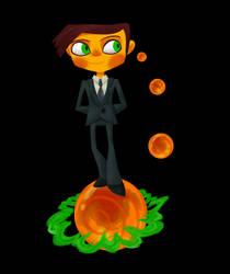 Raz in a Suit by HauntedLantern