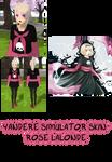 Yandere Simulator- Rose Lalonde