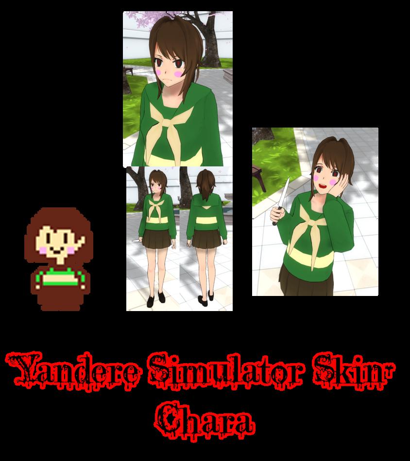 Yandere simulator asriel skin by imaginaryalchemist on deviantart.