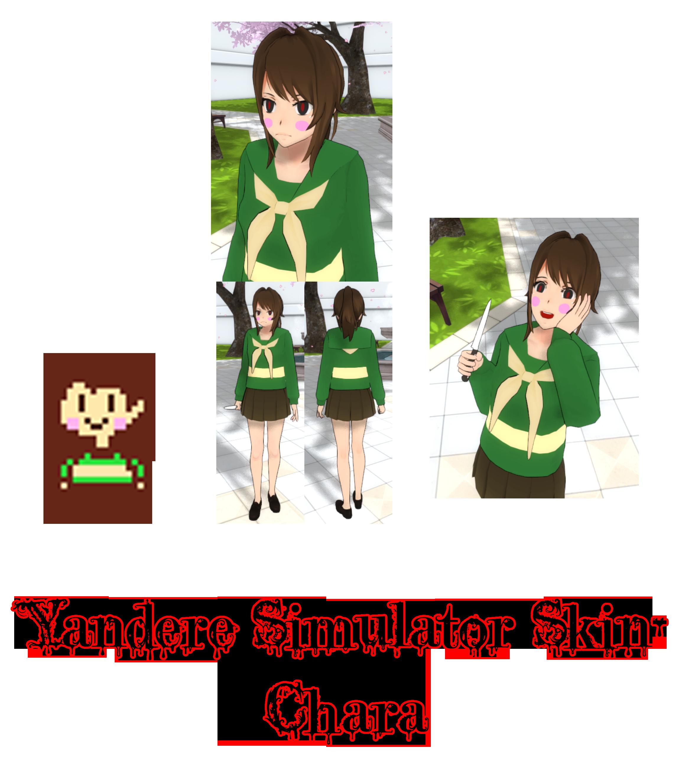 The offical yanderetale mod! Undertale simulator?! Yandere.