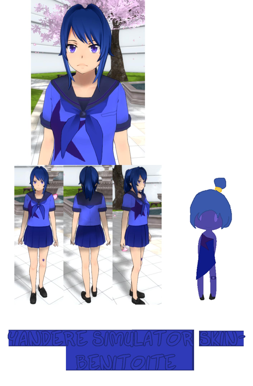 Yandere Simulator- Peacock Skin by ImaginaryAlchemist on