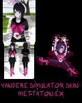 Yandere Simulator- Mettaton EX Skin
