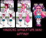 Yandere Simulator- Giffany Skin