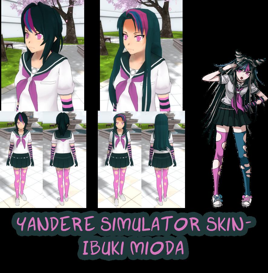 Yandere Simulator- Benitoite Skin by ImaginaryAlchemist on