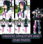 Yandere Simulator- Ibuki Mioda Skin