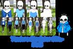 Yandere Simulator- Sans Skin