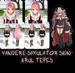 Yandere Simulator- Krul Tepes Skin