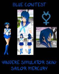 Yandere Simulator- Sailor Mercury Skin by ImaginaryAlchemist