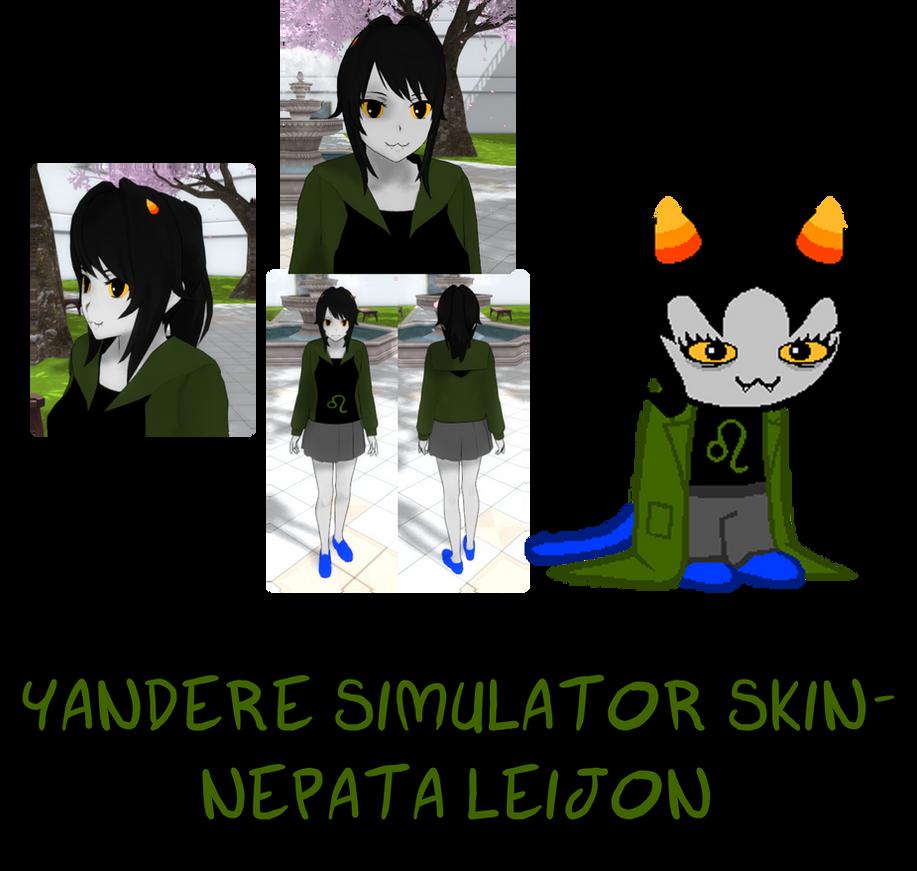 Yandere Simulator Nepeta Leijon Skin By Imaginaryalchemist On