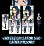 Yandere Simulator- Sayaka Maizono Skin