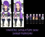 Yandere Simulator- Shino Murasaki Skin