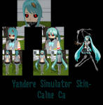 Yandere Simulator- Calne Ca Skin