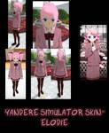 Yandere Simulator- Elodie Skin