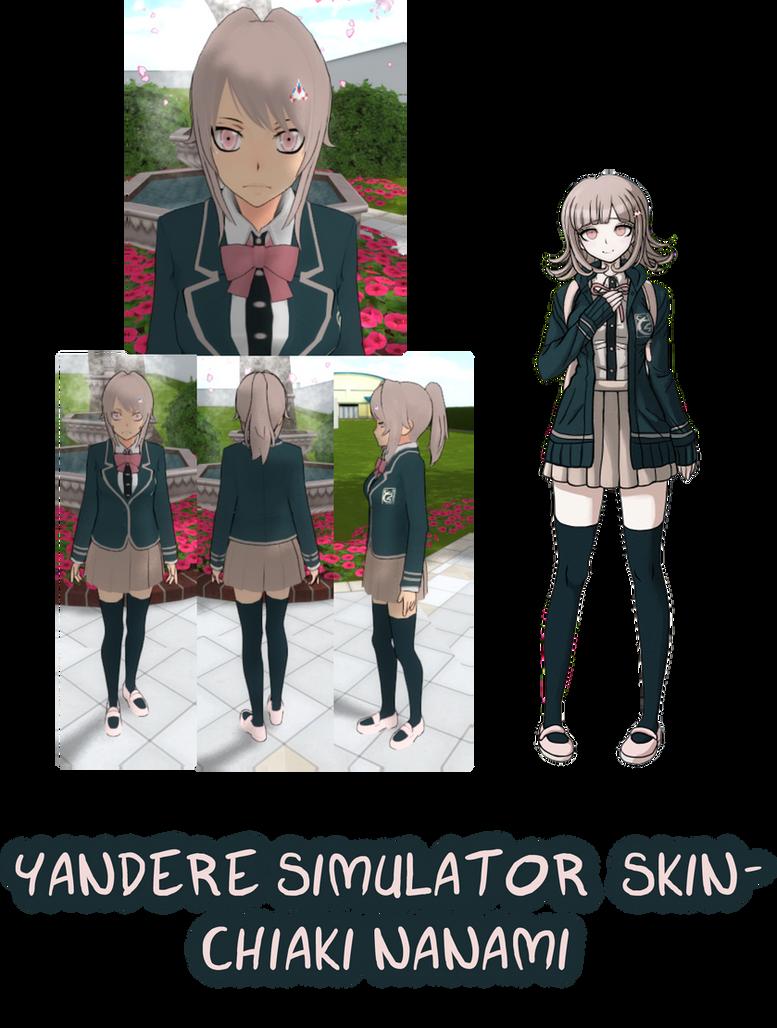 Yandere Simulator- Emo Screamo Skin by ImaginaryAlchemist