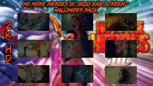 No More Heroes III - 'Boss End Screen' Wallpapers
