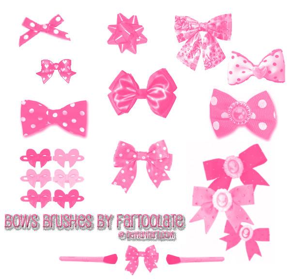 Bows Brush Set