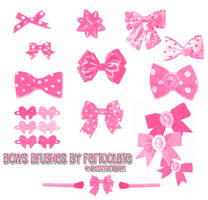 Bows Brush Set by fartoolate