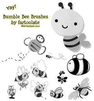 Bumble Bee Brushes